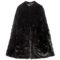 saint laurent - sable fur cape