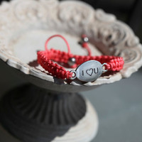 I LOVE YOU Bracelet - cute I Heart You Bracelet