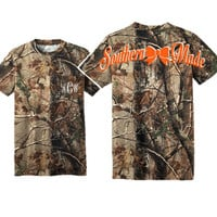 SHORT SLEEVE  Southern Made Realtree Explorer 100% Cotton T-Shirt with Pocket