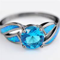 #Blue #Fire #Opal #Silver #Ring #silverring #bluefirering #fireopal #loyalty #trust #color #light #stoneofmagicalpowers #improvesight #protectionfromdiseases #painrelieverfrompainandsorrow #magic #love #progress #hope #happiness #truth #increasepersonalpo