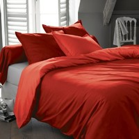 Swan Comfort #1 Bed Sheet Set Highest Quality Brushed Microfiber 1800 Bedding, Hypoallergenic, Queen, Red