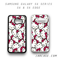 hello kitty collage Phone case for samsung galaxy S6 & S6 EDGE