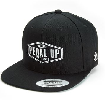 Pedal Up Origin Snapback Cap