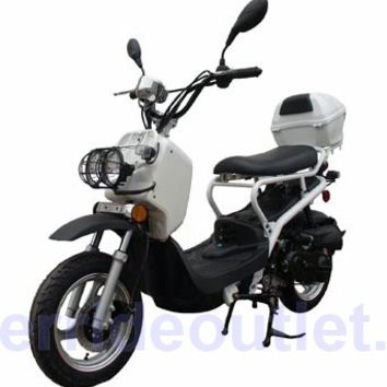 "150cc Scooter PRO MCR-22-150 Honda Ruckus Clone Gas Scooter (12"" Aluminum Rims, Light Weight Body, Low Profile Seat, 95% Assembled, Ruckus Clone)"