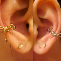 bow ear cuff, 5 color options