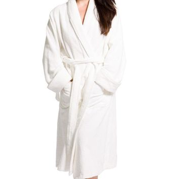 Women's Premier Turkish-Style Full Length Terry Cloth Spa Robe