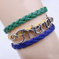 The World Cup Fans Jewelry Flag Bracelet
