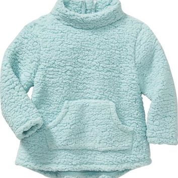 Old Navy Sherpa Kangaroo Pocket Pullover For Baby