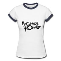 New Casual Round Neck My Chemical Romance T-shirts For Women Fashion Good Cotton Women T Shirt