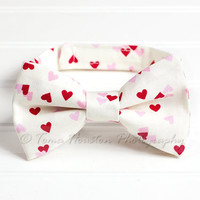 Boy's, Girl's Bow Tie, Baby, Child- Hearts, Red, Pink, Cream, Toma's Tutus and Things