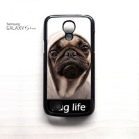 New Design Funny Hilarious Pug Life Parody fans For Samsung Galaxy Mini S3/S4/S5 Phone case ZG