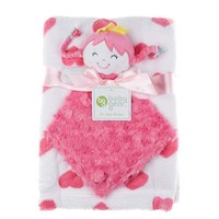Soft Heart Blanket W Princess Doll 335818047 | Baby Blankets | Blankets | Bedding | Burlington Coat Factory