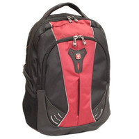 Ultimate Swiss Gear 16-inch Laptop Backpack - The Jupiter (Red/Black)