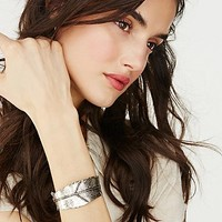 Free People Destiny Feather Cuff