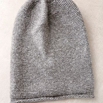 Hey Sugar Heather Grey Beanie