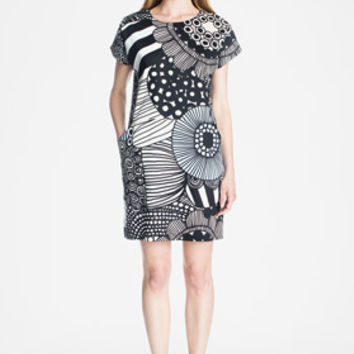 Apparel: Marimekko Gili dress in white, light blue, light pink | Marimekko Store