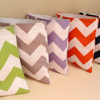 "Reusable Eco Chevron Snack and Sandwich Bags, 7"" x 7"", School Supplies Lunch Bags Pacifier Pouch"