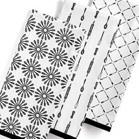 Martha Stewart Collection Set of 3 What's Cooking Kitchen Towels
