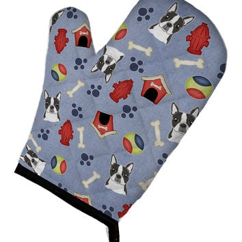 Dog House Collection Boston Terrier Oven Mitt BB3982OVMT