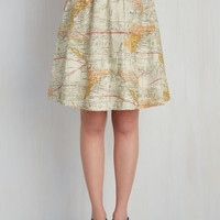 For the Mercator Good Skirt | Mod Retro Vintage Skirts | ModCloth.com