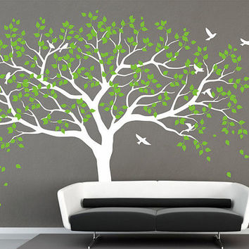 Large Tree Wall Decal Tree Wall Decals Frame Family Photo Tree Wall Decal  Wall Sticker Art