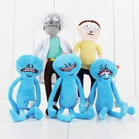 5Styles Meeseeks Rick and Morty Happy & Sad Mr. Meeseeks stuffed figure plush toy