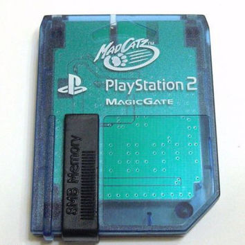 Mad Catz Brand 8MB Memory Card for Sony PlayStation 2 PS2