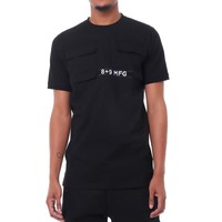 Strapped Up Military Shirt Black