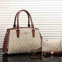 Coach Women Leather Tote Satchel Handbag Crossbody  G-MYJSY-BB