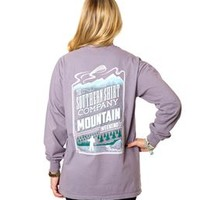 Southern Shirt Company Mountain Weekend Long Sleeve T-Shirt Other Colors Available