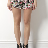 Gab & Kate Garden Of Dreams Shorts- Floral