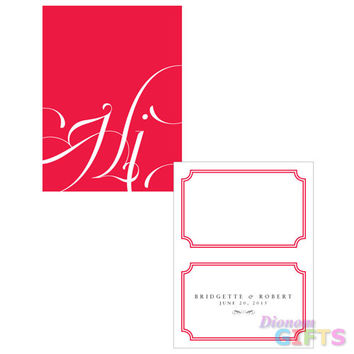 Expressions Place Card With Fold