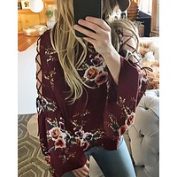 Indian Rose Top in Rose