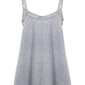 Grey Camis with Adjustable Straps