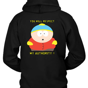Eric Cartman Respect Hoodie Two Sided