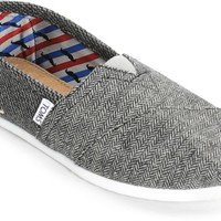 Toms Classic Movember Herringbone Mix Womens Shoes