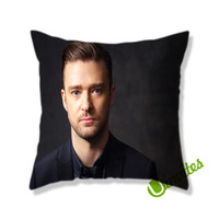 Justin Timberlake Photoshoot Square Pillow Cover