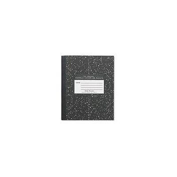 Roaring Brook Press Marble Cover Composition Book, Wide Rule, 8-1/2 X 7 - 5Pack