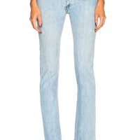 RE/DONE LEVI'S Cindy Crawford The Crawford High Rise in Indigo | FWRD