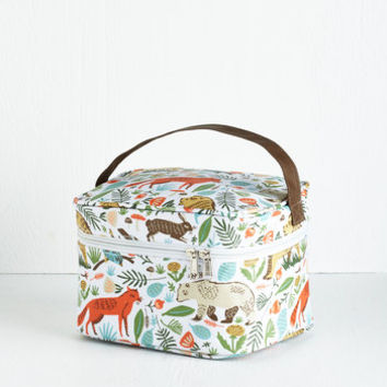 Woodland Creature Woods You Join Me? Lunch Box by ModCloth
