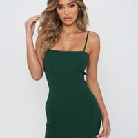 Buy Our Slim Love Dress in Green Online Today! - Tiger Mist