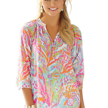 Elsa Top - Scuba To Cuba - Lilly Pulitzer