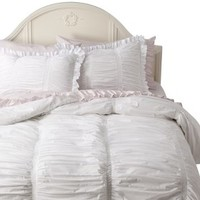 Simply Shabby Chic® Smocked Duvet - White