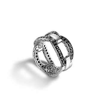John Hardy classic chain collection small interlinking band ring
