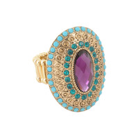 Oval Gemstone Ring | FOREVER21 - 1008585645