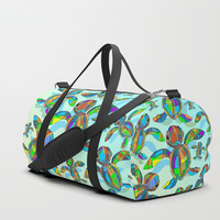 SOLD! Baby Sea Turtle Fabric Toy Duffle Bags by BluedarkArt | Society6