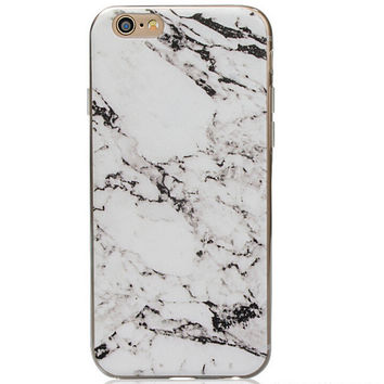 Natural Marble Grain iPhone 5s 6 6s Plus creative case Gift-129