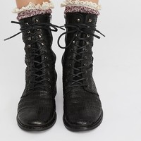 Free People Fort Night Lace Up Boot