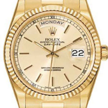 Rolex Day-Date Mens Automatic Watch 118238WSP
