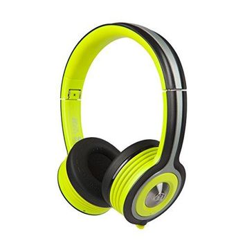 Monster iSport Freedom Wireless Bluetooth On-Ear Headphones (Green), Sports, Sweatproof, and Noise Isolation